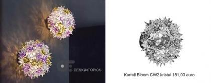Kartell bloom cw2 kristal 9270 b4