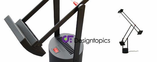 Aanbieding artemide tizio 35 zwart te koop designtopics design verlichting lamp webshop - Gloeilamp tizio lamp ...