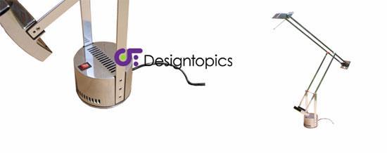Aanbieding artemide tizio gepolijst te koop designtopics design verlichting lamp webshop - Gloeilamp tizio lamp ...