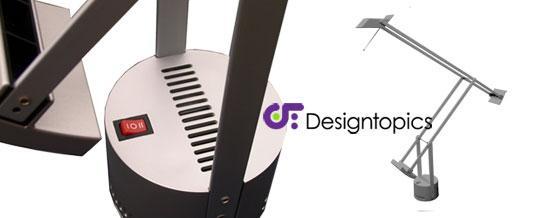 Aanbieding artemide tizio 35 grijs te koop designtopics design verlichting lamp webshop - Gloeilamp tizio lamp ...