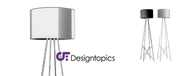 aanbieding flos ray f2 grijs glas te koop designtopics design verlichting lamp webshop
