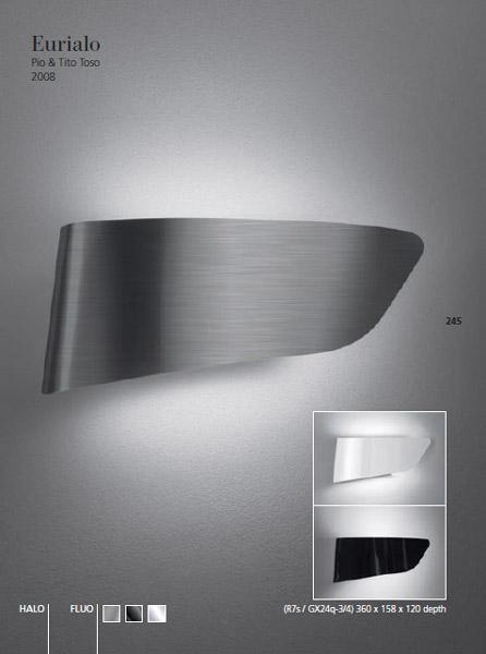 Aanbieding artemide eurialo alu te koop designtopics design verlichting lamp webshop - Artemide lichtarmatuur ...
