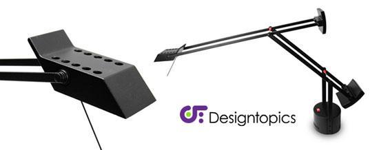 Aanbieding artemide tizio micro zwart te koop designtopics design verlichting lamp webshop - Gloeilamp tizio lamp ...