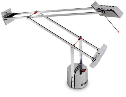 Aanbieding artemide tizio micro chroom te koop designtopics design verlichting lamp webshop - Gloeilamp tizio lamp ...
